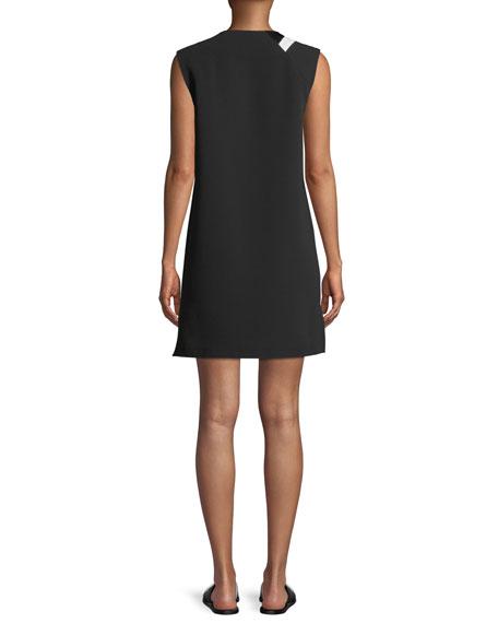 Lodwick Sleeveless V-Neck Shift Dress