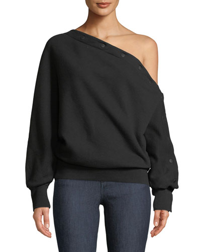 Kate Modular One-Shoulder Pullover