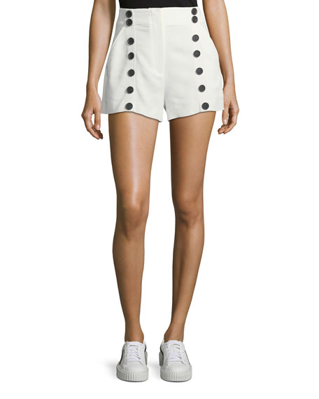 Issac High-Waist Sailor Shorts
