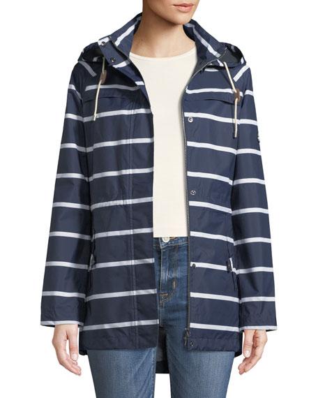 Hollwell Striped Jacket w/ Hood