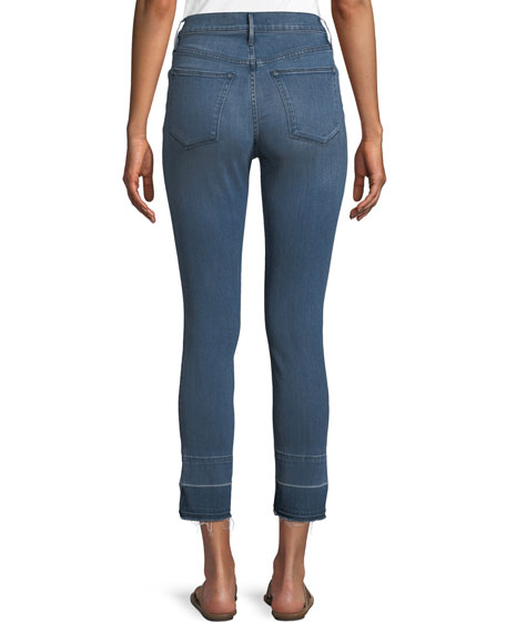 W4 Abigail Split Crop Jeans