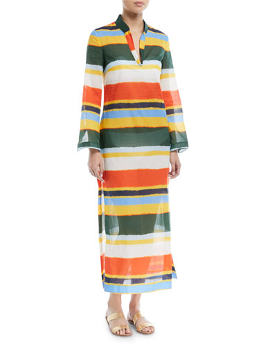 Stephanie Maxi Caftan Coverup Dress