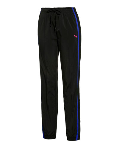 Tearaway Side-Snap Track Pants