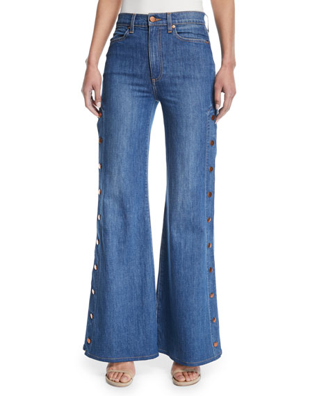 Free Shipping Clearance Cropped wide-leg jeans Frame Denim Recommend Online Sale Newest With Paypal Low Price Outlet Big Discount dn0KJsIHTa