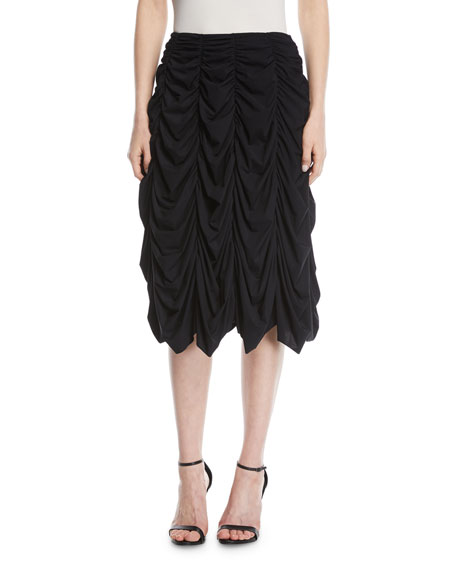 discount shop best choice laest technology Draped Midi Skirt