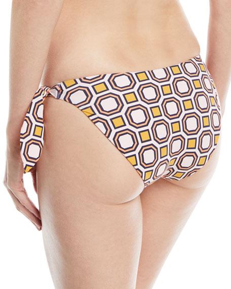 Reversible Side-Tie Swim Bikini Bottom