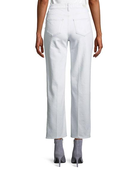 Sarah High-Rise Straight-Leg Jeans