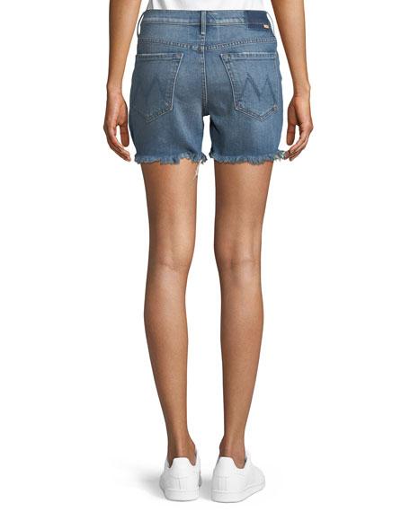 Sinner Denim Shorts w/ Fray