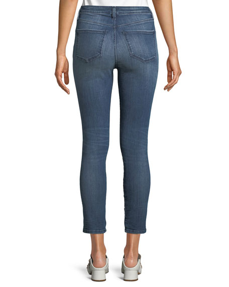 Reina Star-Ice Skinny Crop Jeans