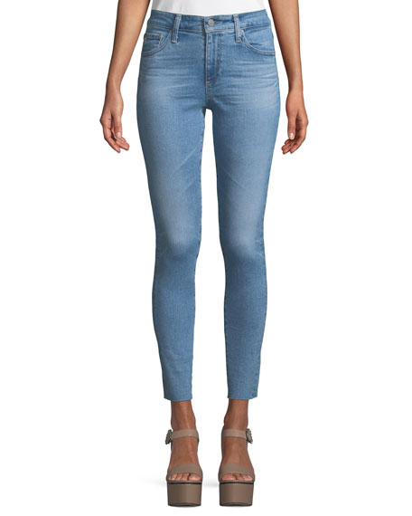 The Farrah High-Rise Skinny Ankle Jeans