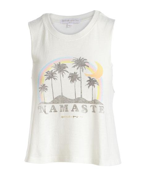 Namaste Beach Crop Tank