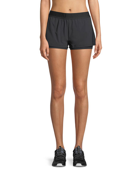 ALALA Court Mesh Performance Shorts in Black