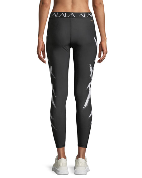 Base Printed Performance Tights