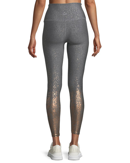 Alloy Ombre High-Waist Midi Legging