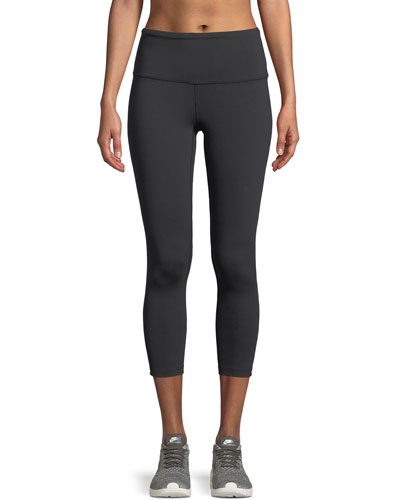 Motivation High-Rise Cropped Performance Leggings