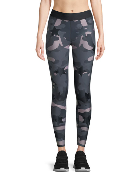 Ultra High Camo-Print Full-Length Leggings