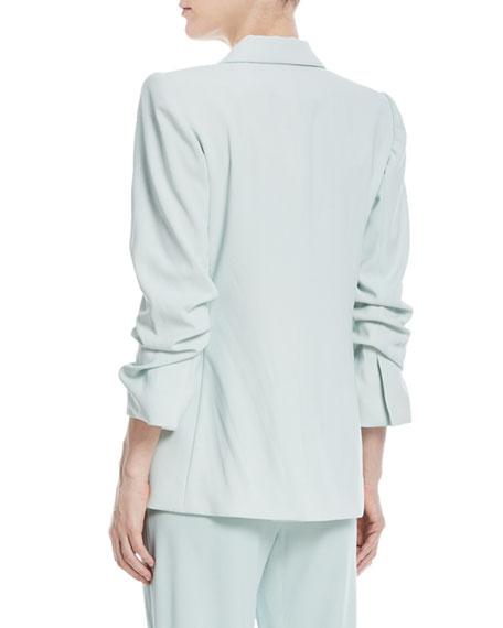 Sebastian Shawl-Collar One-Button Blazer