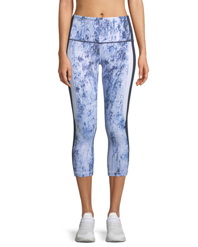 Ventute Printed Capri Leggings