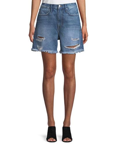 Le Stevie Denim Shorts