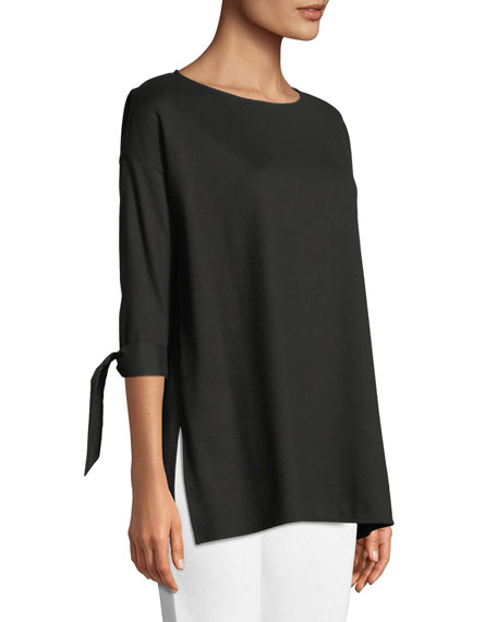 Catriona Lightweight Punto-Knit Top