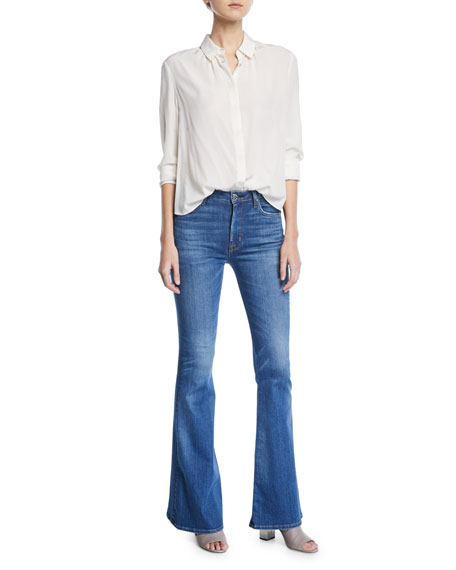 Holly High-Rise Flare Jeans