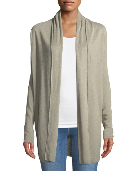 New Harbor Open-Front Cardigan