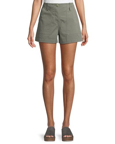 Casual Twill Cargo Shorts