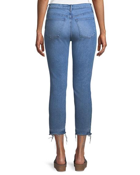 W3 Authentic Straight-Leg Crop Jeans