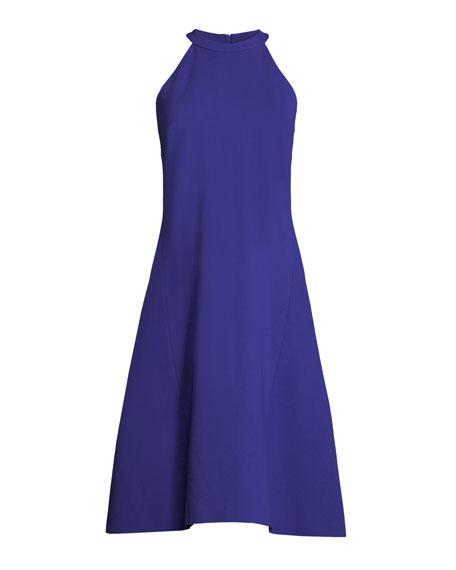 Mellie Halter-Neck A-Line Dress