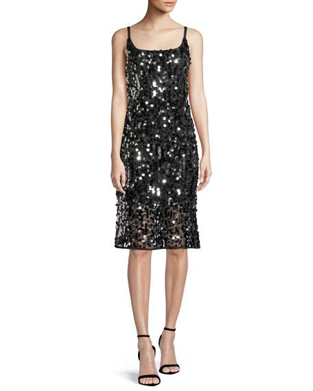 Jessie Sequined Sleeveless Dress