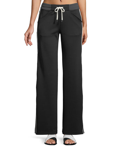 Vista Straight-Leg Drawstring Track Pants