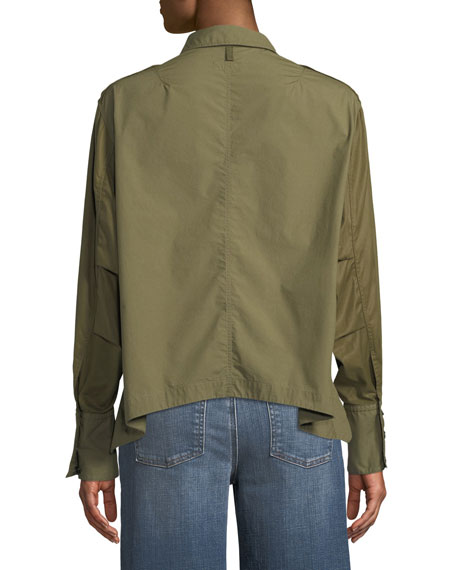 Pearson Button-Down Cotton Shirt