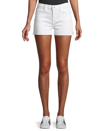 The Cutoff Frayed Denim Shorts