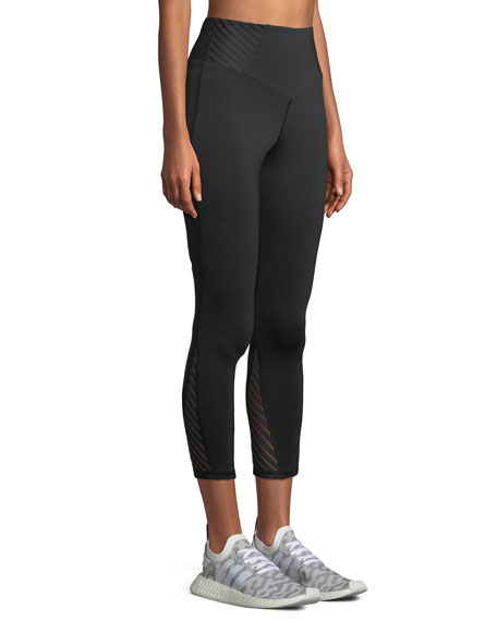 Attitude High-Waist Cropped Performance Leggings