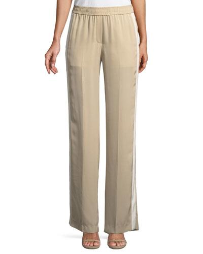 Modern Silk Georgette Track Pants
