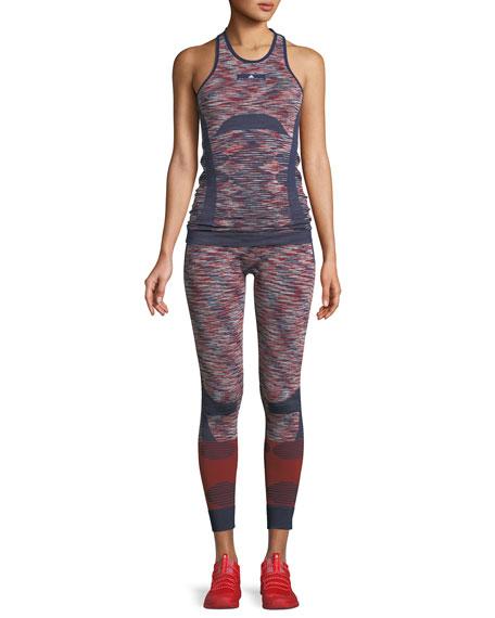 Seamless Space-Dye Yoga Tights