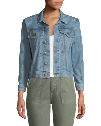The Boxy Jean Jacket