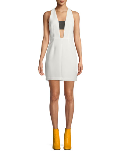 Izzy Sleeveless Cutout Mini Dress