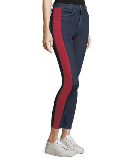 Mazie Skinny Jeans with Side Stripe