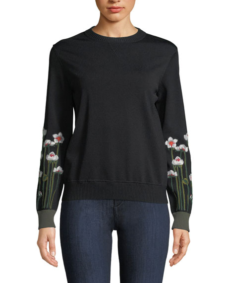"""Garden Of Metamorphosis"" Black Sweatshirt"