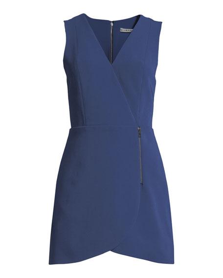 Lennon Side-Zip Mini Dress