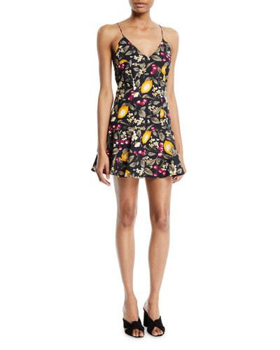 Erik Lemons Sleeveless Flounce Dress