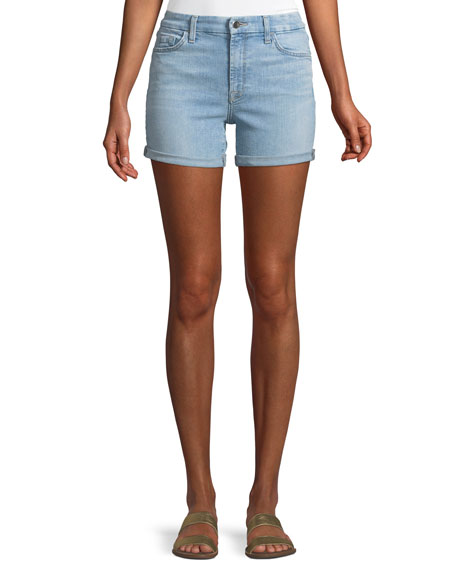 Jen7 by 7 for All Mankind Mid-Rise Roll