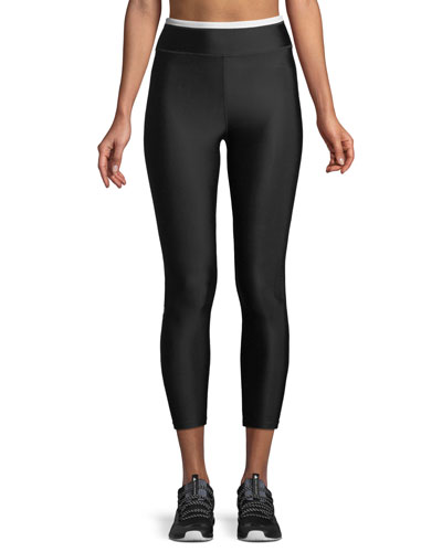 Offside Cropped Performance Leggings