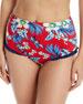Diane von Furstenberg Cheeky Floral Ruffle High-Waist Bikini
