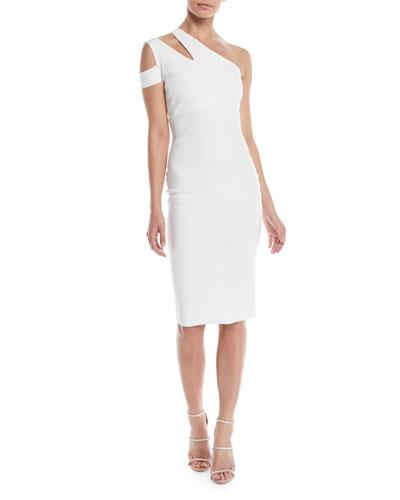 Letya Asymmetric Cutout Dress