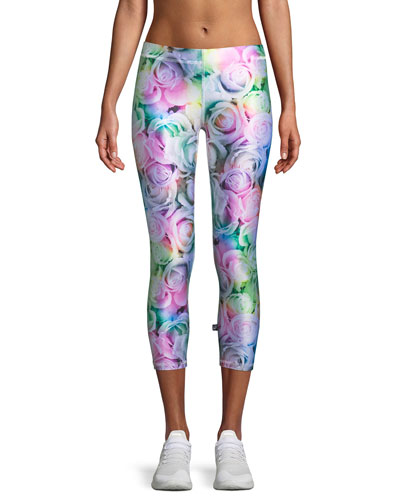 Perfect Pastels Capri Performance Leggings