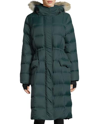 Lunenberg Hooded Parka Jacket with Fur Trim