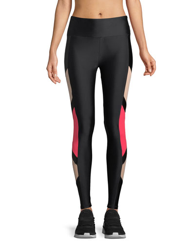 Carver Side Block Performance Leggings