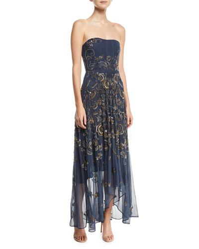 Tango Strapless Illusion Gown